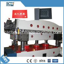 Teppich / Matte / Lack / Gummi Hydraulik Hitze Pressmaschine