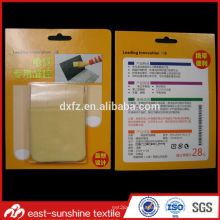 eco-friendly microfiber OEM computer screen cleaning cloth in paper case