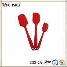 China Utensilios de productos populares Set Espátula de silicona de cocina