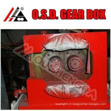 Boîte de vitesses d'extrudeuse à double vis conique SZ48 pour machine d'extrudeuse