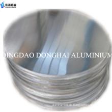 Aluminium-Kreisblatt
