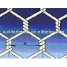 Malla de alambre hexagonal de doble torsión