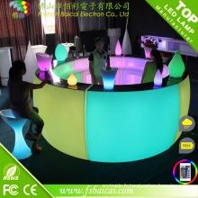Compteur de bar à LED moderne / comptoir de bar à vendre / design de comptoir de bar à la maison