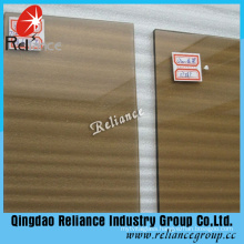 5mm Euro Bronze Tinted Glass/Float Glass with ISO