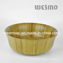 Kitchen Appliquer un bol de salade de bambou (WBB0409D)