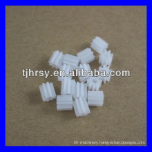 Small plastic gear for motor