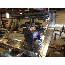 Servicio de fabricación de chapa de acero personalizado de bajo costo