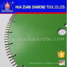 Béton de coupe de diamant de soudure de laser de 350mm
