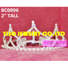 simple design crystal tiaras