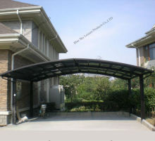 Strong and sturdy steel garage carport for 2 cars parking
