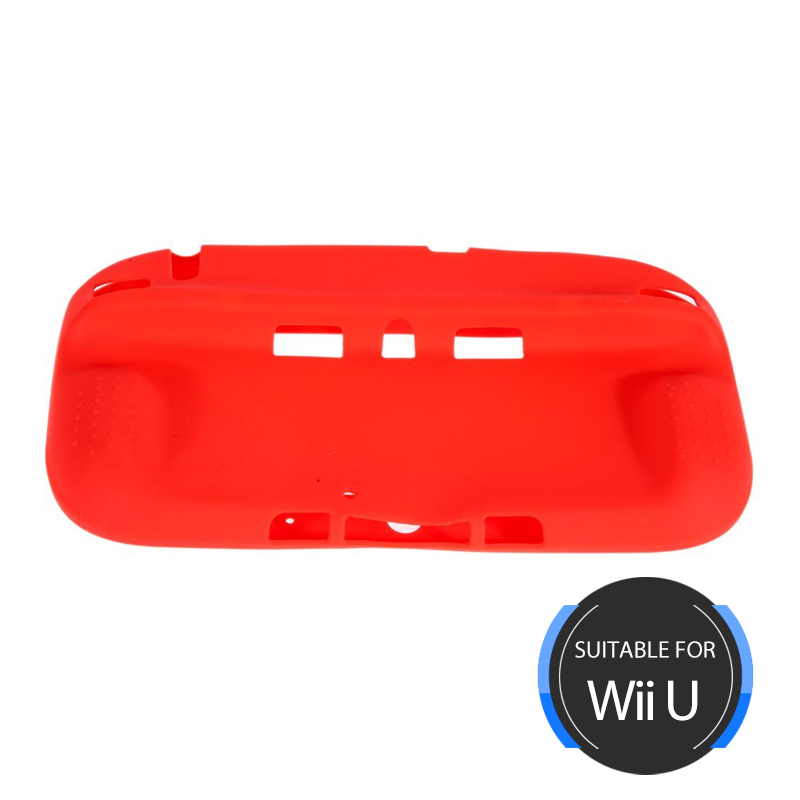 Wii U Gamepad Silicone Guard Red