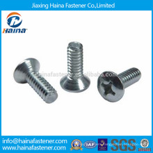 Stainless steel pan head, semi-sunken head screw