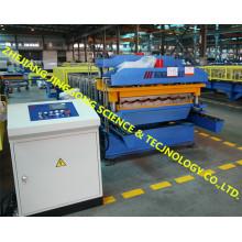 Machine de formage de rouleaux à double couche à toit à grande vitesse