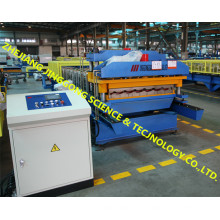 Máquina de formação de rolos de camada dupla de telha de alta velocidade