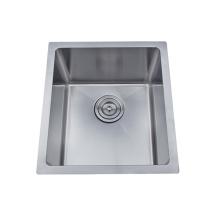 Kitchen stainless steel undermount handmade sink