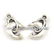 Niedliche Delfin Anhänger Halskette Schmuck