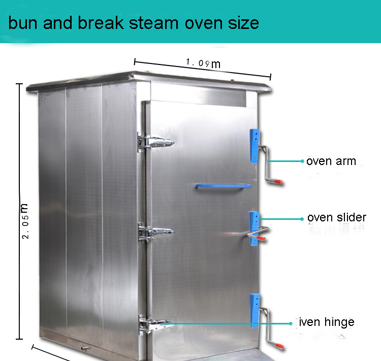 steam oven overall size