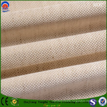 Waterproof Flame Repellent Coated Linen Polyester Fabric for Curtains