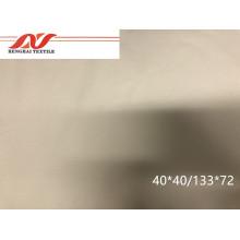 Popelín de algodón 40 * 40/133 * 72 medio blanqueado 57/58 125gsm