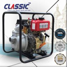 CHINA CLÁSICA bomba de gasolina de 4 pulgadas baja presión Bomba Diesel, motor portátil 4 pulgadas de gas de agua diesel de arranque eléctrico
