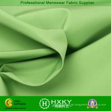 Grüne Farbe glänzend Speicher Stoff für Mode Herren Jacken
