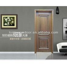 Sofisticada tecnología interior casla puerta de madera maciza de roble