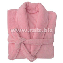 Coral Fleece Women Bathrobe for Winter