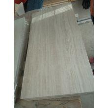 azulejos de mármol blanco de madera
