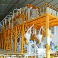 Мельница для кукурузной муки со стальной конструкцией