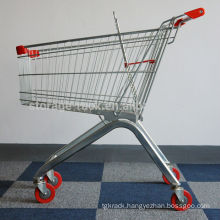 Supermarket Shopping Push Cart