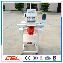 single head embroidery machine suitable for cap/t-shirt/flat