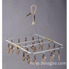 Foldable Aluminum Drip Dryer with 32 pegs