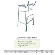 Caminante de soporte de antebrazo