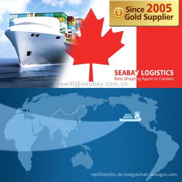 Konkurrenzfähiges Verschiffen nach Kanada / Montreal / Vancouver / Halifax / Toronto