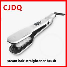 Cheveux lisser créatives cheveux lisseur vapeur pinceau peigne PRO vapeur