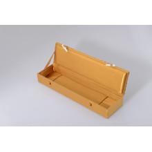 Boîte à bijoux Customzied de carton gris de haute qualité