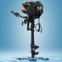 New Powerful Brushless 5.0HP Electric Boat Outboard Motor 48V 1200W