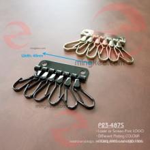 Neueste Lederwaren 2015 mit Metallschlüsselhalter mit Schlüsselring