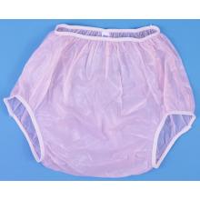 Pantalon de couche-culotte adulte en plastique pour bébé