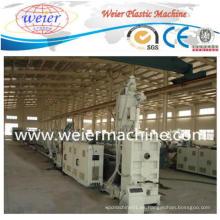 Nueva cadena de producción plástica de la máquina del extrusor del tubo de los PP PP de la técnica