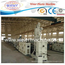 Nouvelle ligne de production de machine d'extrudeuse en plastique de tuyau de PE de pp