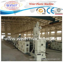 New Technique PP PE Pipe Plastic Extruder Machine Production Line