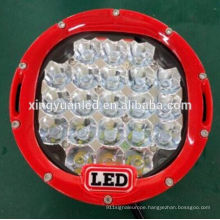 105W 7 inch led offroad work lighting , truck led working light , DC 10-30V waterproof IP 67
