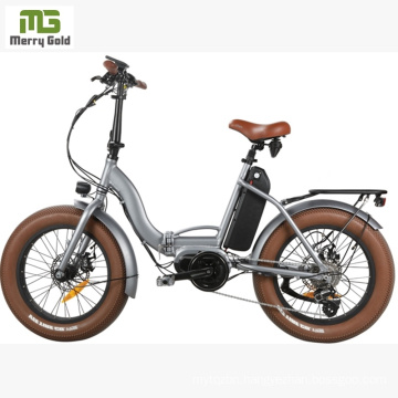 Hot Sale E Bike Fat Tire Electric Folding Bike/ CAD Electric Bicycle Part