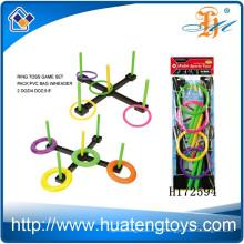 Wholsale crianças brincam brinquedo de plástico jogo de jogo de lance anel H172594
