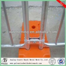 hot dipped galvanized low price temporary fence