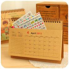 2015 neue Design Tisch Kalender Tischkalender