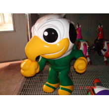 Custom Outdoor Playground / Indoor Cute Bird Fiberglass Statues Amusement Park