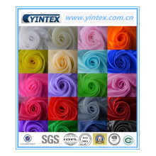 Tissu de gaze coloré de vente chaude de luxe