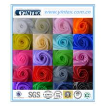 Tecido de gaze colorido de venda quente de luxo